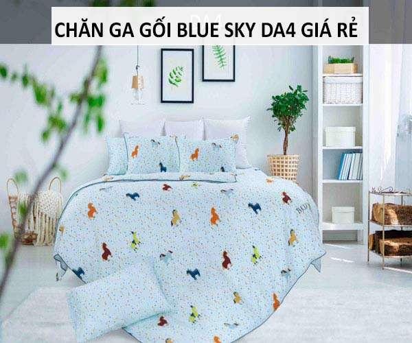Bộ chăn ga gối Hanvico Blue Sky